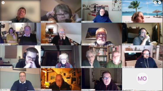 Digitale Mitgliederversammlung
