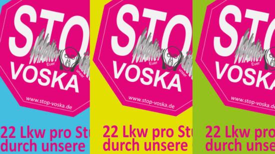 Plakate der AG Stop Voska
